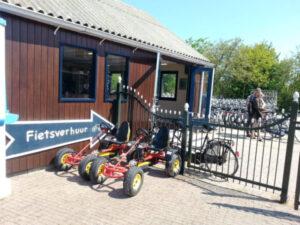 Texel-vakantiehuisje huren De Krim Texel fietsverhuur