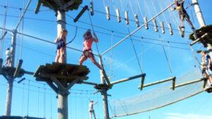 Texel-vakantiehuisje huren De Krim Texel klimpark