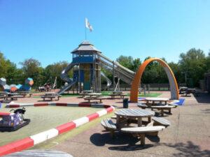Texel-vakantiehuisje huren De Krim Texel speelterrein