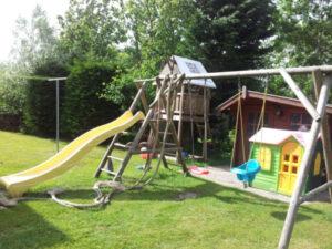 Texel-vakantiehuisje huren De Krim Texel speeltoestellen