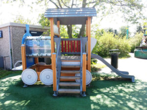 Texel-vakantiehuisje huren De Krim Texel speeltoestel